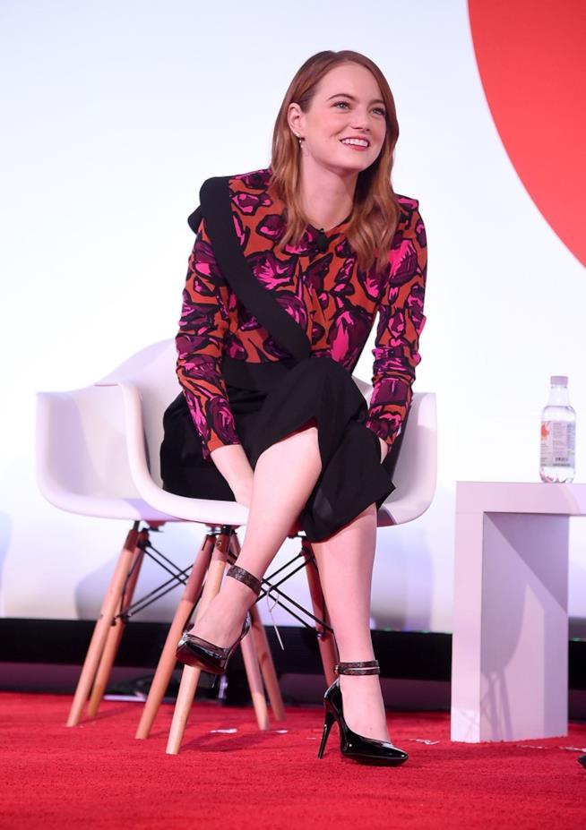 Emma Stone al Child Mind Institute