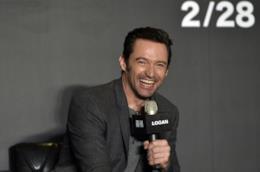 Hugh Jackman durante la promozione del film Logan