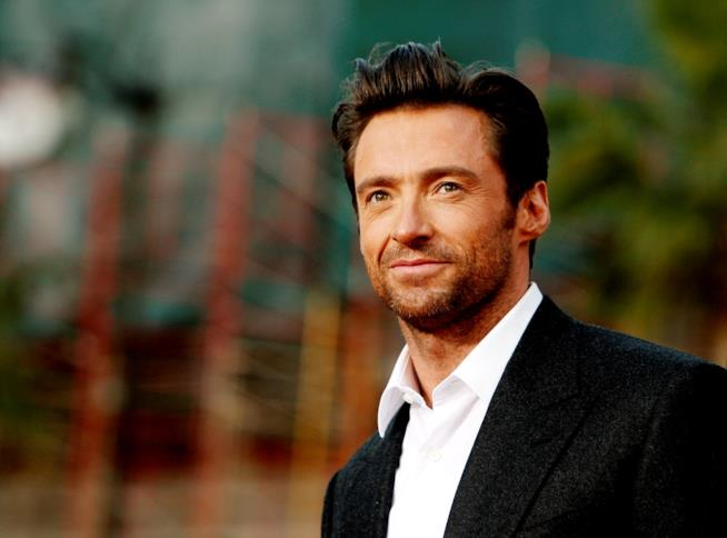 Hugh Jackman in primo piano