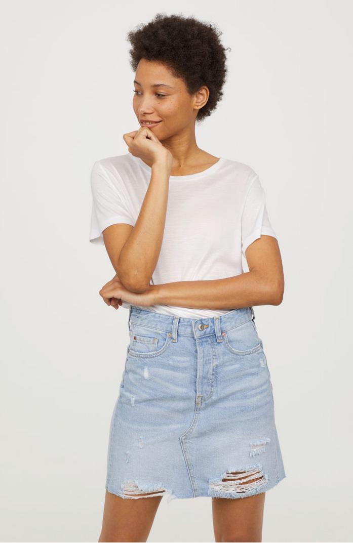 Gonna jeans H&M anni '90
