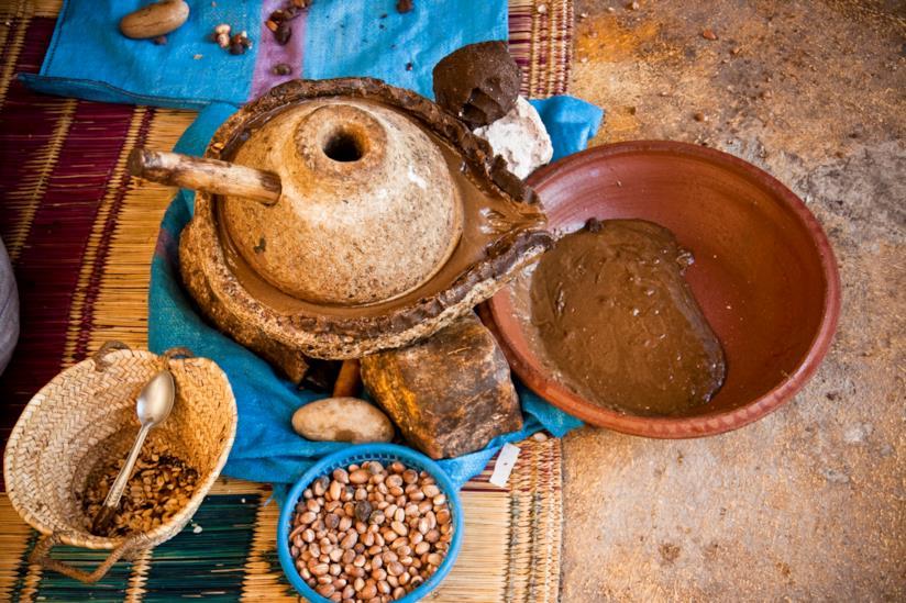 Boccetta olio di argan