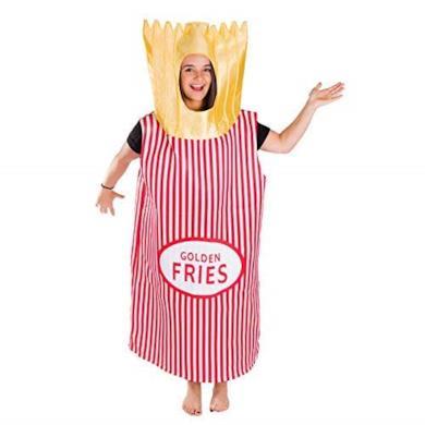 Costume da Patatine Fritte per Adulti