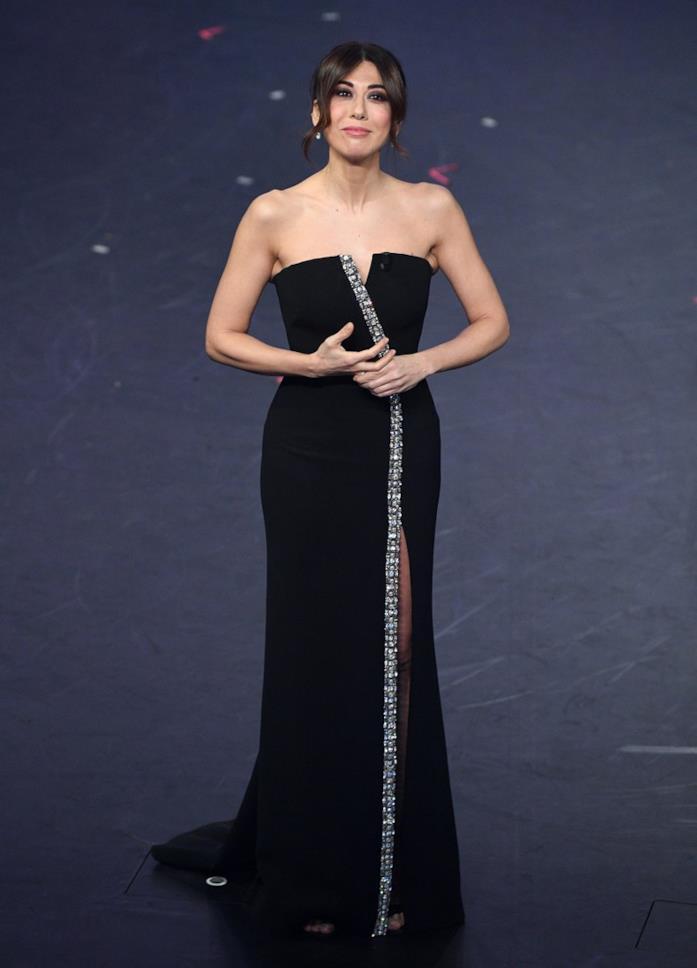 Virginia Raffaele a Sanremo, prima serata