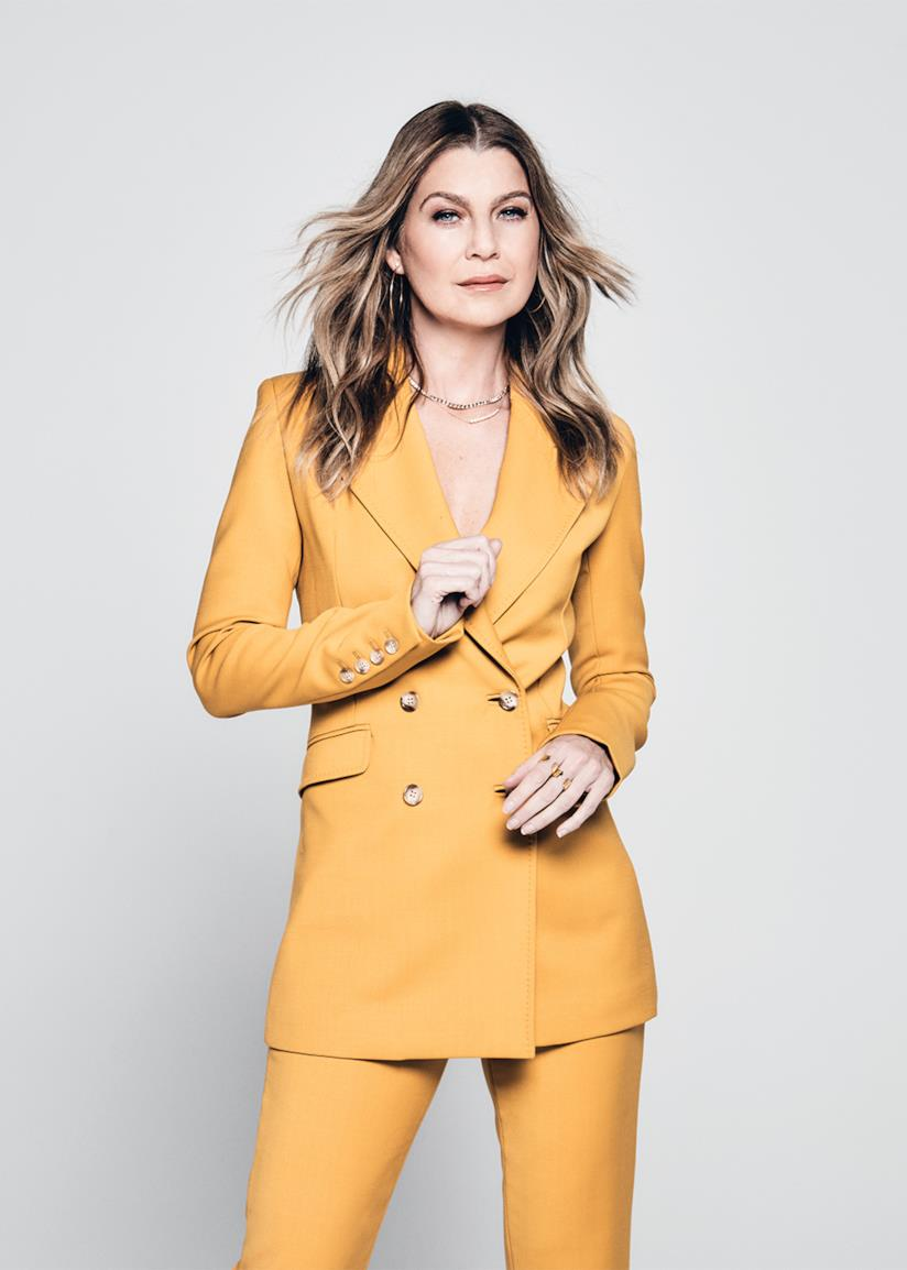 Ellen Pompeo in posa per l'ultimo numero di Variety