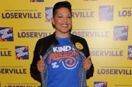 Sara Ramirez a un evento contro il bullismo organizzato da Stomp Out Bullying