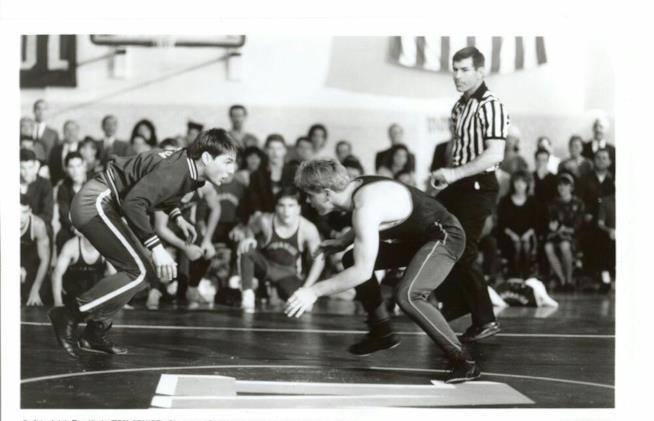Tom Cruise fa wrestling