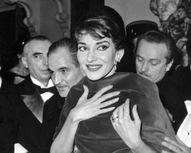 Un'immagine di Maria Callas
