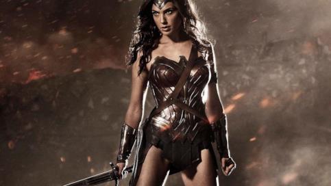 Gal Gadot nei panni di Wonder Woman