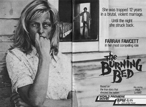 La locandina del film per la televisione Quando una donna, storia di un uomo violento verso la moglie