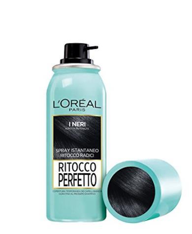 Spray Ritocco Radici per capelli neri