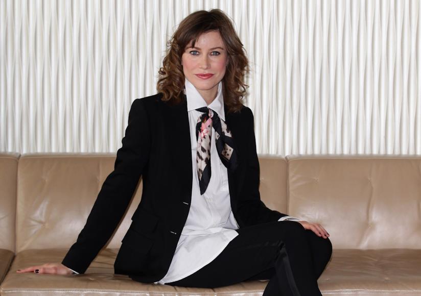 L'attrice e scrittrice Giorgia Wurth