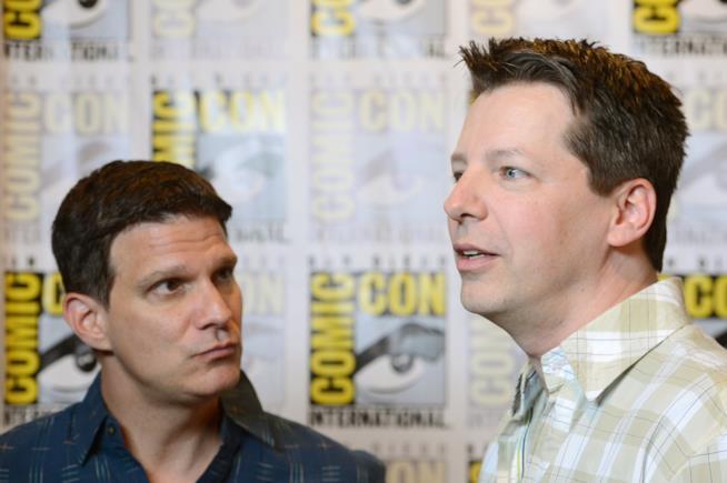 Q-Force Sean Hayes e Todd Milliner produttori della serie animata con spie gay