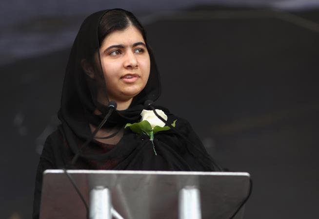 Malala Yousafzai lotta per i diritti delle donne