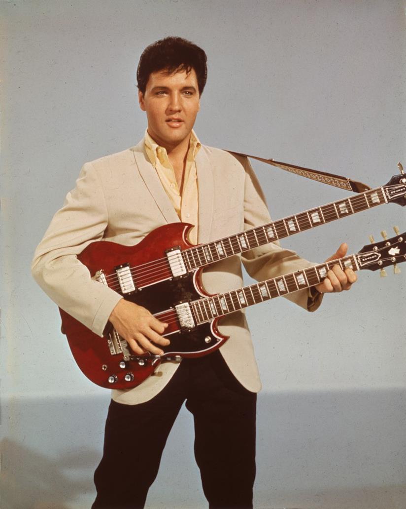 Un ritratto di Elvis Presley