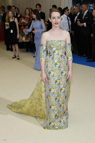 L'attrice Claire Foy