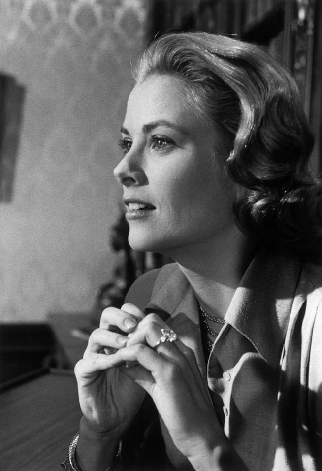 Un'iconica immagine di Grace Kelly