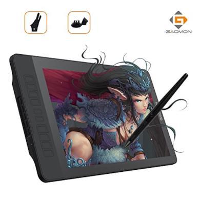 Tavoletta grafica digitale con schermo e penna