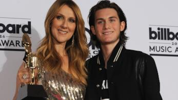Céline Dion e il figlio René-Charles Angélil