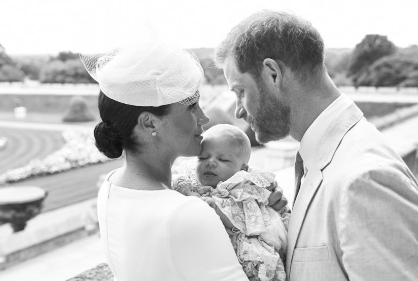 Meghan Markle, il Principe Harry e Archie Harrison