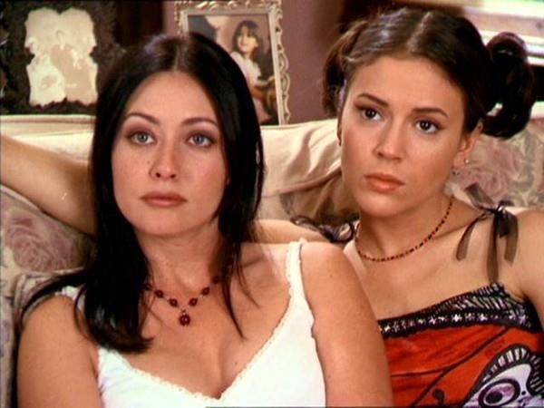 Prue e Phoebe in Streghe