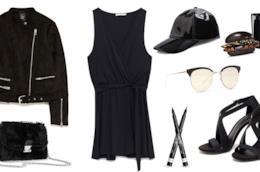 Capi outfit total black per budget di 100 euro