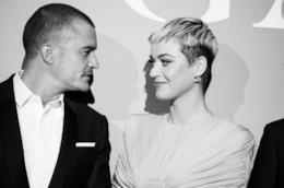 La cantante Katy Perry con l'attore Orlando Bloom