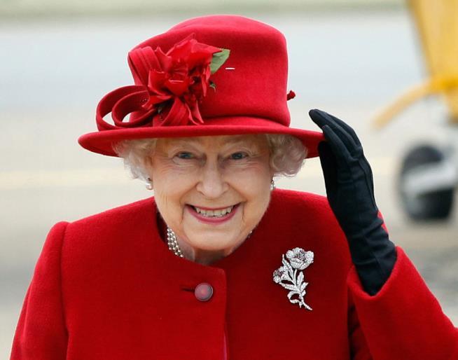 La Regina Elisabetta II del Regno Unito