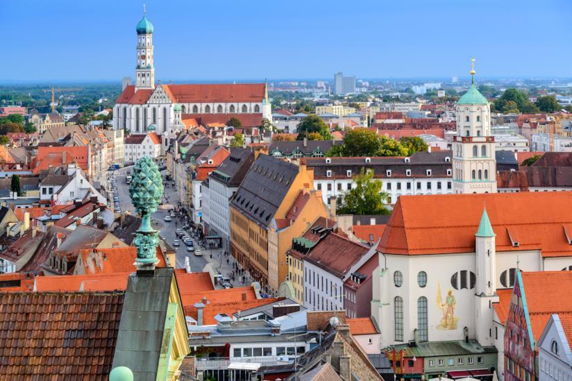 Vista di Augsburg