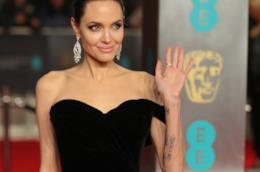 L'attrice Angelina Jolie