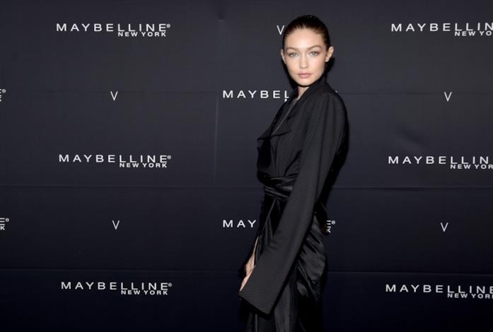 Gigi Hadid a un evento Maybelline New York
