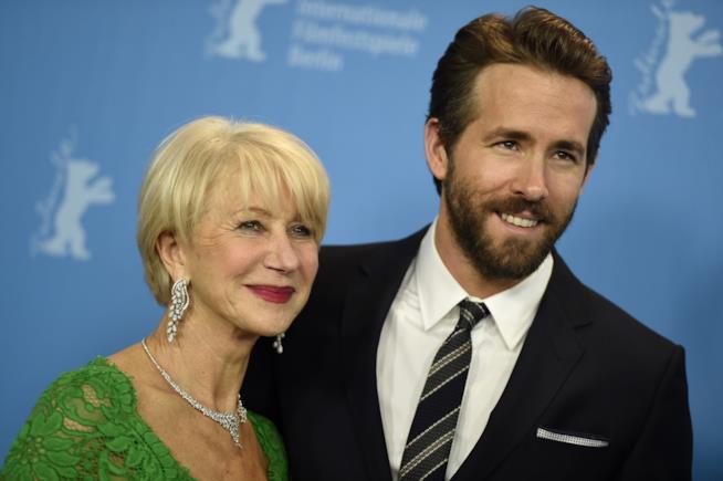 Ryan Reynolds e Helen Mirren