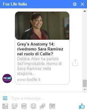 Grey's Anatomy il bot