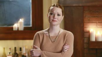 Penny Blake nell'episodio Indovina chi viene a cena