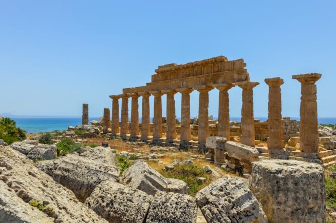 Templio greco di Selinunte.