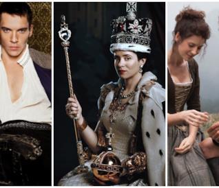 Tudors, The Crown e Outlander