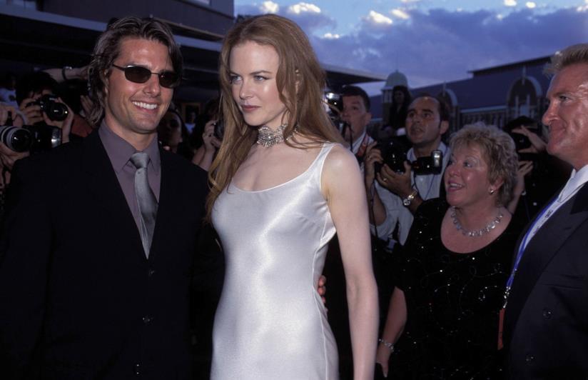 Tom Cruise e Nicole Kidman sul red carpet