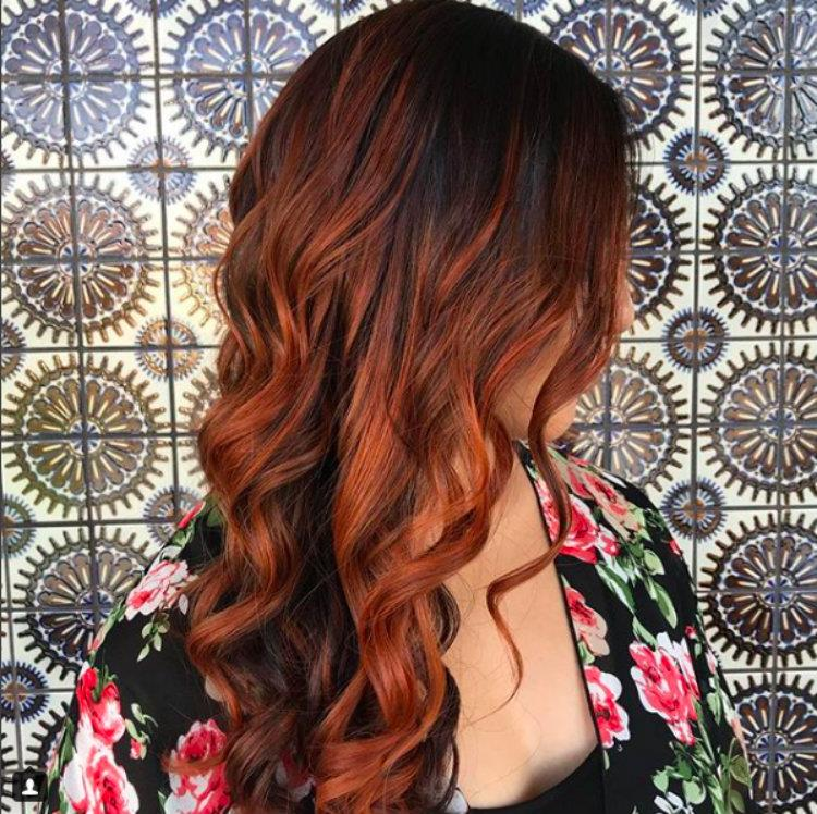 Sfumature rosse capelli