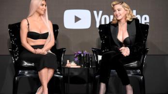 Kim Kardashian e Madonna