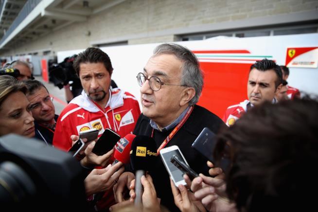 Sergio Marchionne al F1 Grand Prix America