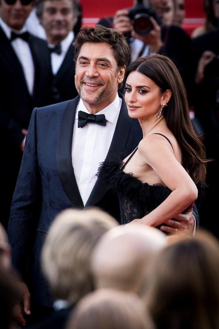 Javier Bardem e Penelope Cruz a Cannes 2018