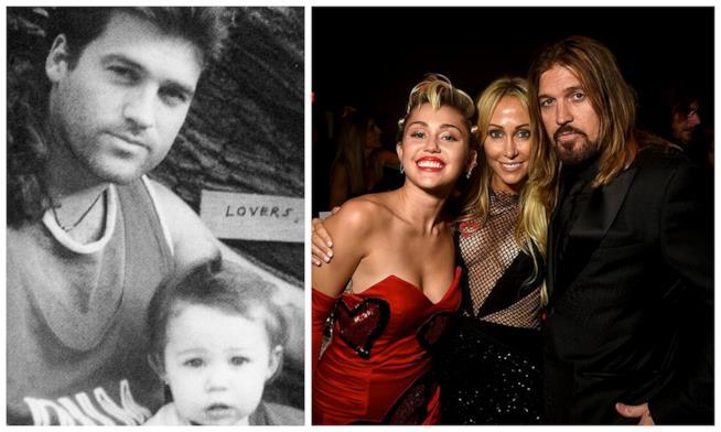 Lo scatto postato da Miley Cyrus su Instagram