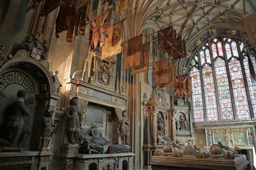 Scorcio interno della Cattedrale di Canterbury