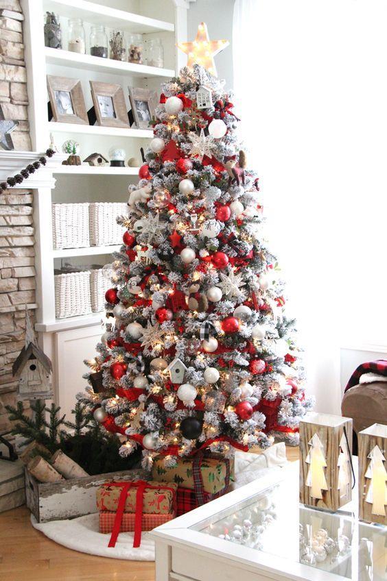 Foto Di Alberi Di Natale.100 Idee E Immagini Per Realizzare L Albero Di Natale