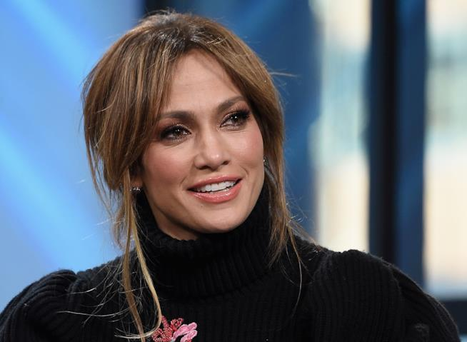Jennifer Lopez in primo piano