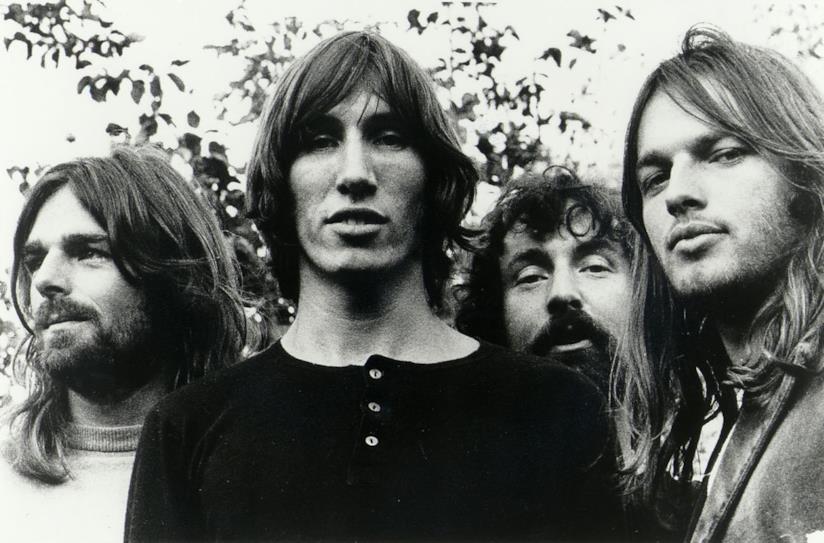 Il gruppo rock psichedelico dei Pink Floyd