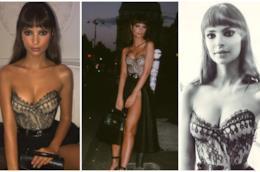 Emily Ratajkowski in tre scatti in corsetto