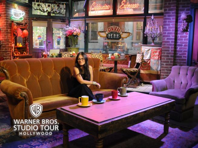 Ricostruzione del set di Friends