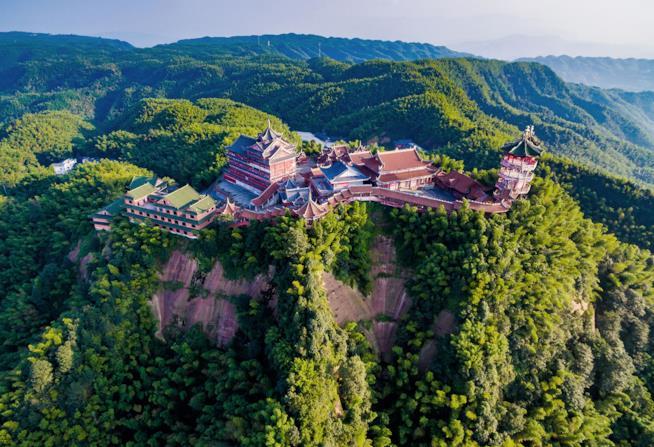 Il tempio Lingyin in Cina