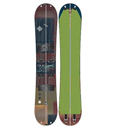 PANORAMIC PACKAGE splitboard + interfaccia + pelli 158