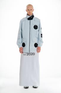Sfilata XANDER ZHOU Collezione Uomo Primavera Estate 2020 Londra - XANDER ZHOU ss2020 look 05